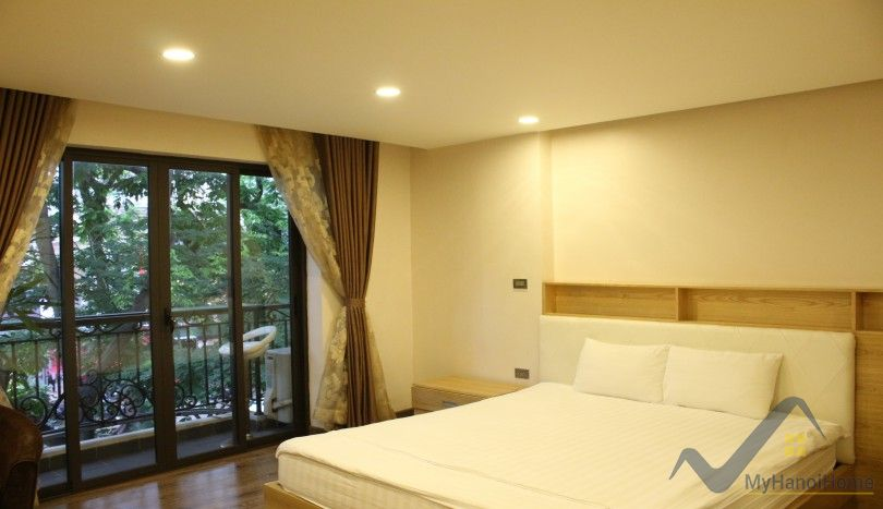 1 bedroom apartment rental in Ba Dinh near Truc Bach area