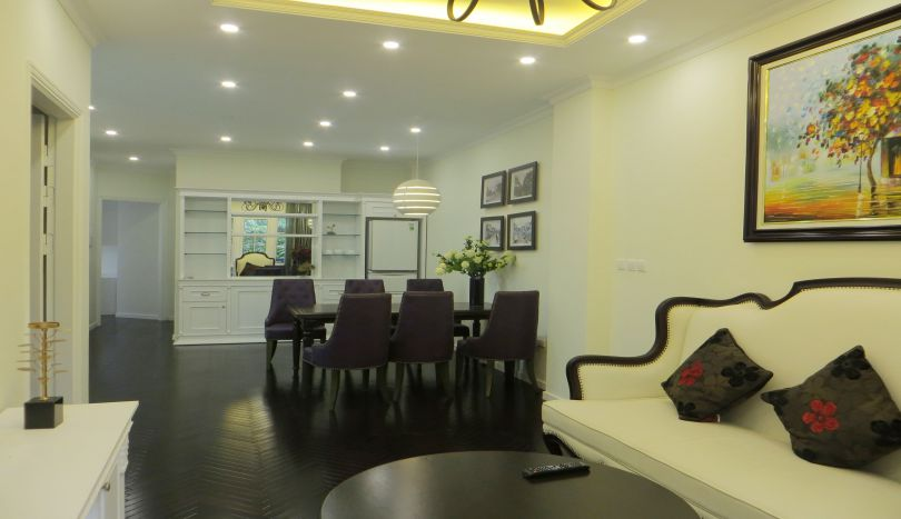 1 bedroom serviced apartment for rent in Hoan Kiem, 4th floor