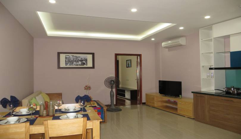 1 bedroom to rent in Tay Ho, fully furnished with gym and garden