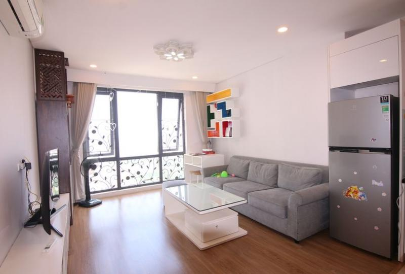 Rent Hanoi Aqua Central with 3 bedroom apartment furnished
