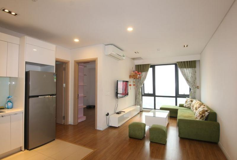 Brand new apartment in Mipec Riverside for rent 2 beds, riverview