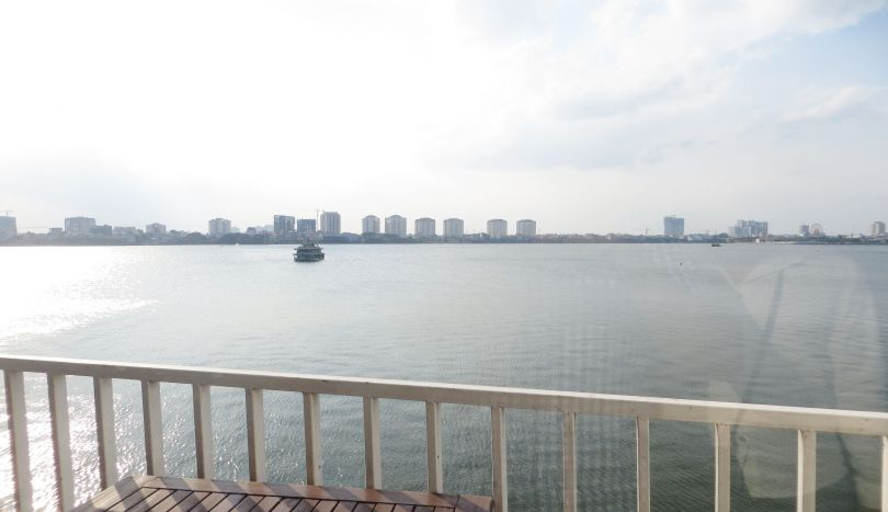 3 bedroom apartment includes cleaning services for rent in Tay Ho