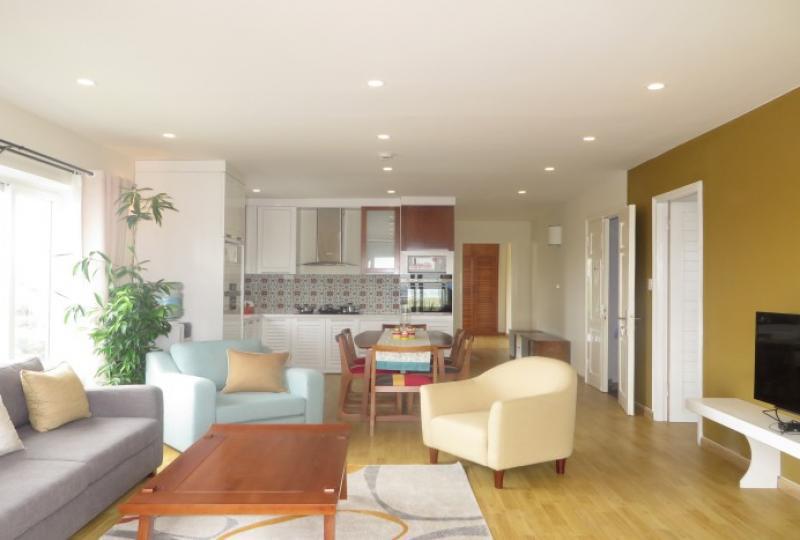 3 bedroom apartment rental in Tay Ho, near Westlake