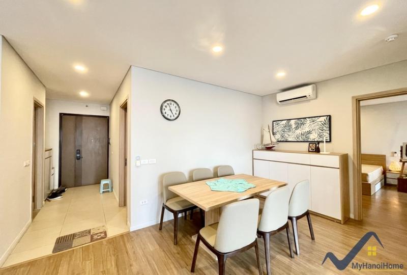 3 bedroom flat for rent in Mipec Long Bien, brand new