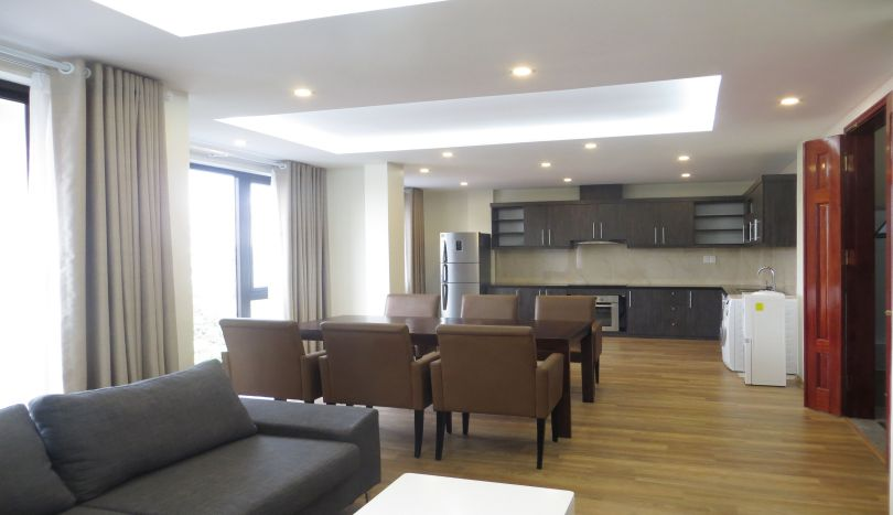 3 serviced apartment in Tay Ho to rent, close westlake
