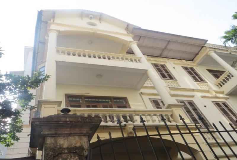 4 floors, 4 bedroom house to rent in Tay Ho, Hanoi