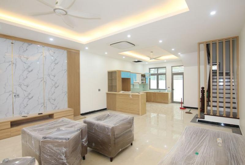 New furnished house Vinhomes Harmony in Nguyet Que area
