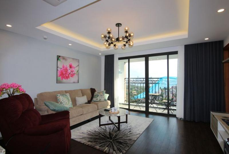 Amazing view 2 bedroom apartment at D Le Roi Soleil Tay Ho