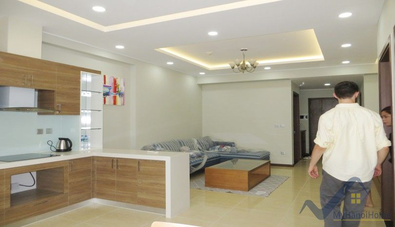 Apartment at Trang An Complex to lease 2 double bedrooms