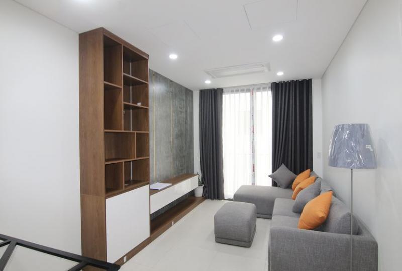 Apartment for rent in Khai Son Town Long Bien 2 bedrooms