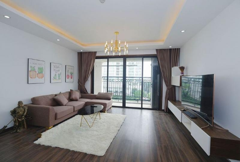 Apartment in D Le Roi Soleil Xuan Dieu for rent 2 bedrooms