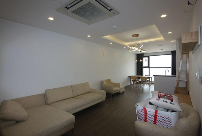 Apartment in FLC Twin Towers for rent 2 bedrooms furnished