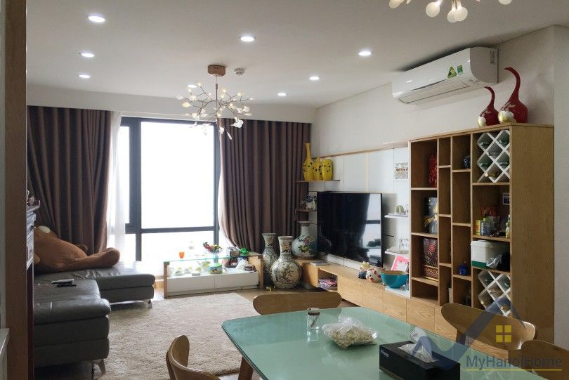 Apartment in Mipec Riverside Hanoi with two bedrooms furnished