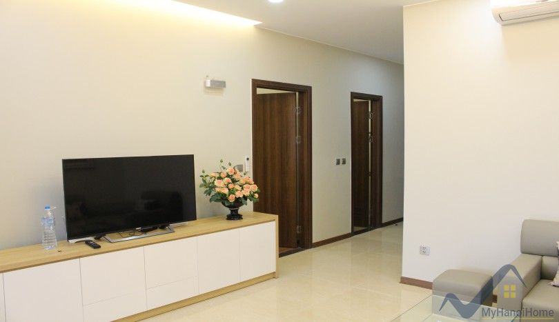 Apartment in Trang An Complex in Cau Giay rental, private balcony