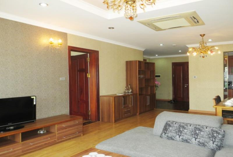 Apartment in Xuan Dieu street for rent including 2 beds, 2 baths