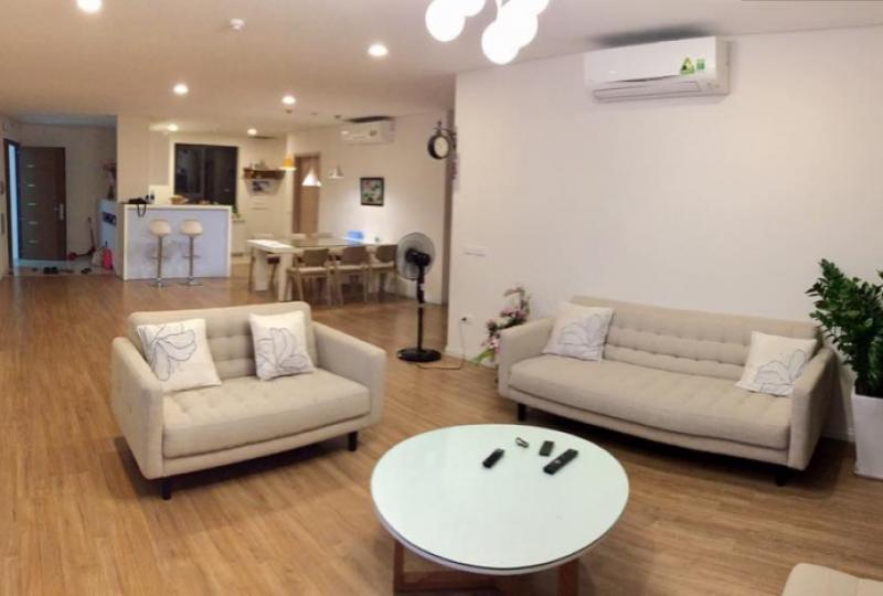Apartment rental in Mipec Riverside Long Bien 02 bedrooms