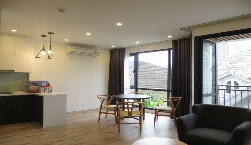 Apartment rental in Tay Ho with 1 bedroom, 2 bathrooms