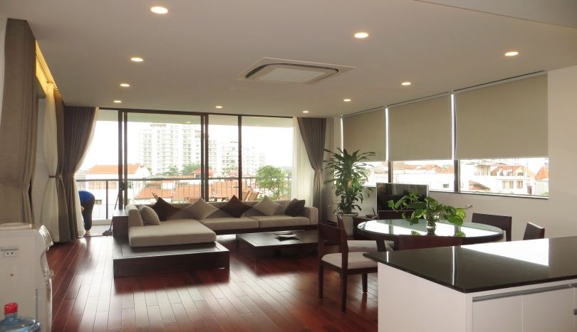 Apartment to rent in Tay Ho, 250m2, 3 bedrooms swimming pool