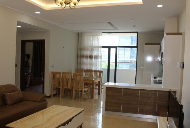 Apartment to rent in Trang An Complex, central park view