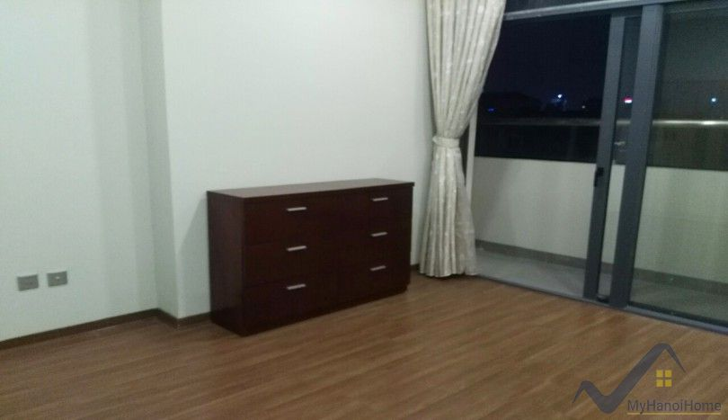 Balcony two bedroom apartment in Trang An Complex Cau Giay