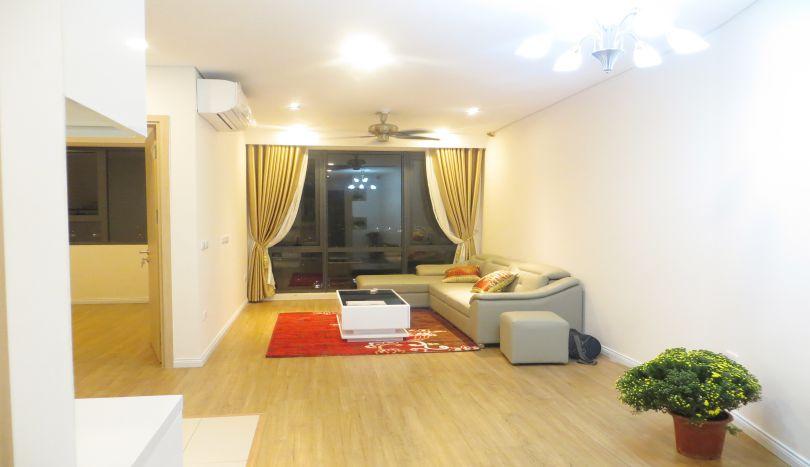 Basic furnished 2 apartment for rent in Mipec Riverside Long Bien