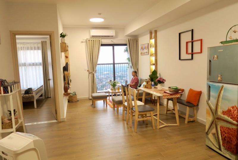 Beautiful 2BR apartment to rent in Westbay Ecopark Van Giang