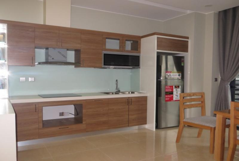 Brand new 2 double bedroom apartment in Trang An Complex rent