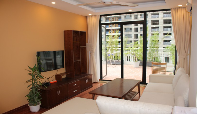 Brand new duplex 03 bedroom apartment in Tay Ho rental