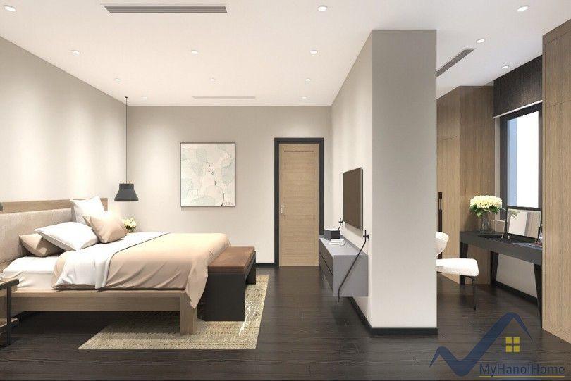 Brand new Vinhomes Riverside villa rental in Hoa Phuong