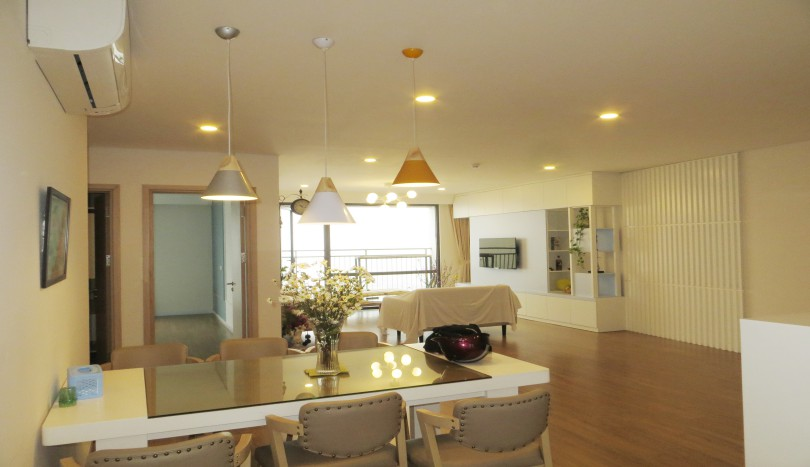 3 bedroom apartments for rent. Bright 3 Bedroom Apartment In Mipec Riverside With River View 150m2 Apartments For Rent