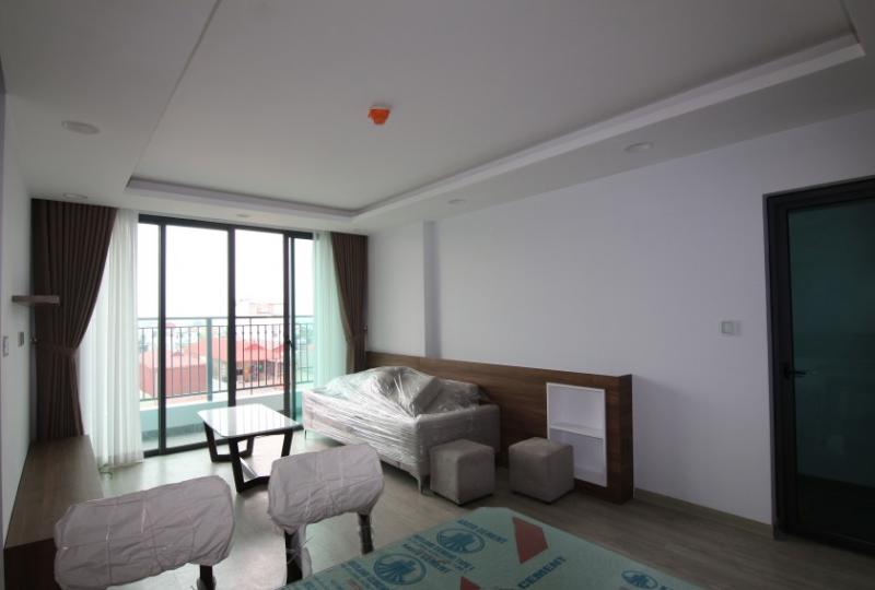 Bright furnished 2 bedroom apartment in ONE 18 Ngoc Lam Long Bien
