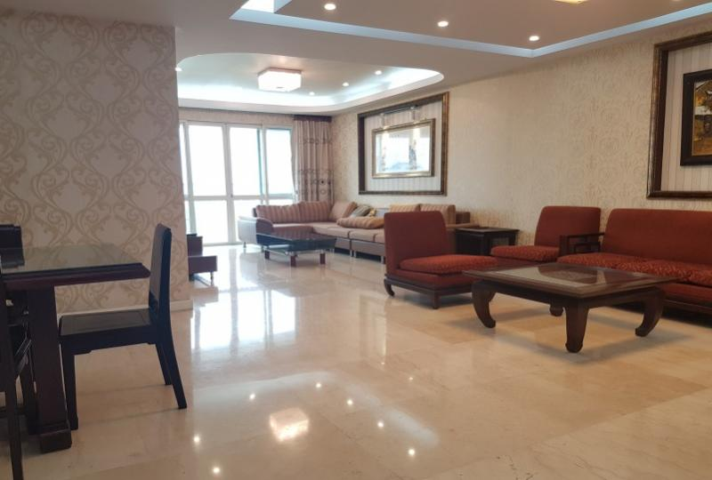 Bright furnished 4BR apartment rental at P1 tower Ciputra Hanoi