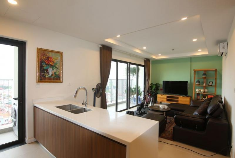 Bright Kosmo Tay Ho apartment for rent with 3 bedrooms