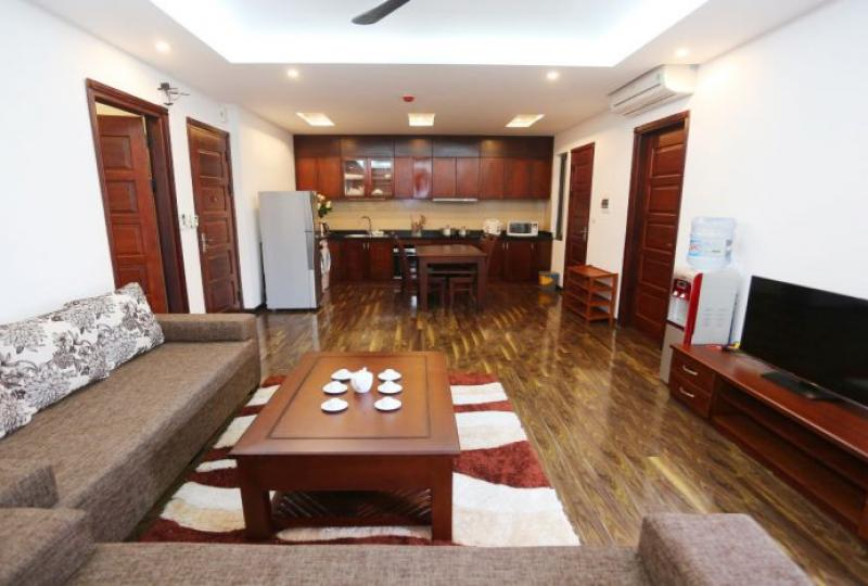 Cau Giay 2 bedroom apartment to rent including best services