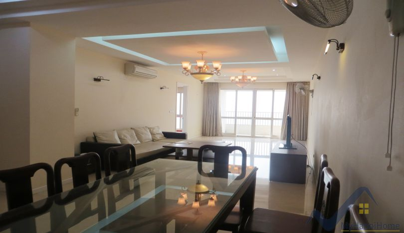 Ciputra Hanoi apartment to rent 3 beds with 145m2, P tower