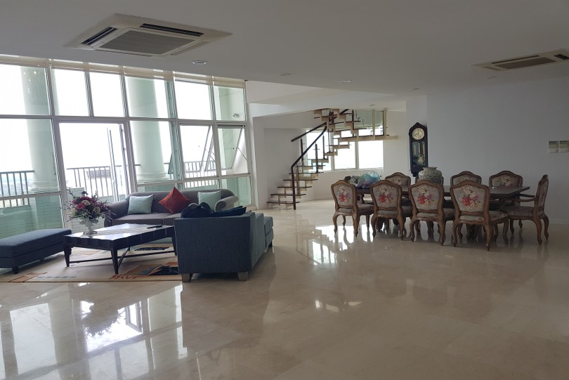 Ciputra Hanoi: Furnished 4 bedroom penthouse to rent at P tower