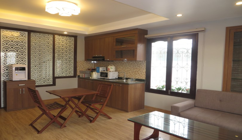 Dao Tan 1 bedroom apartment for rent in Ba Dinh district
