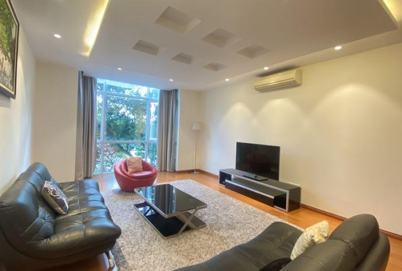 Duplex 2 bedroom apartment in Truc Bach to rent
