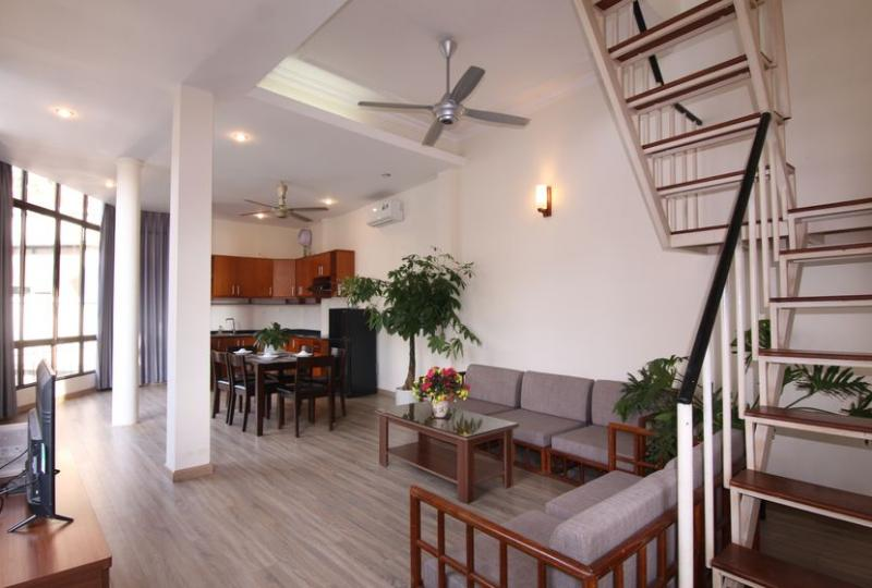 Duplex apartment in Truc Bach Hanoi 2bed 2bath
