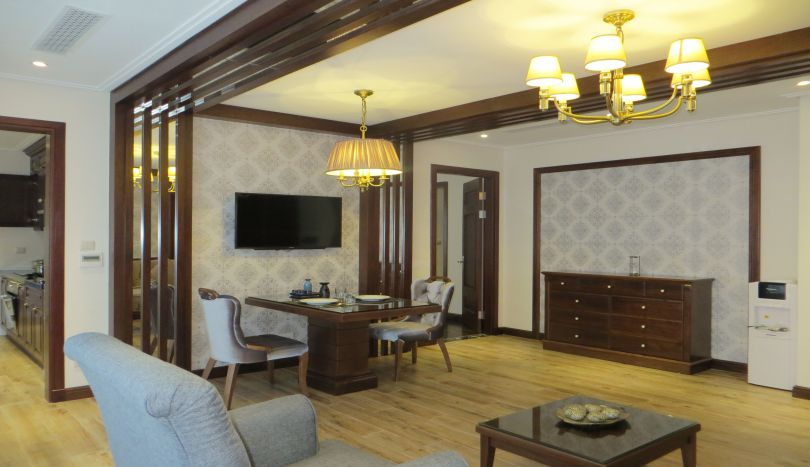 Exceptional 1 bedroom apartment to let in Hoan Kiem, luxury property