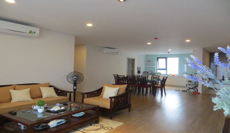 Fantastic three bedroom apartment Mipec Long Bien to rent furnished