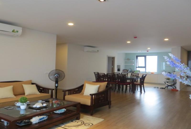 Fantastic three bedroom apartment Mipec Long Bien to rent furnished