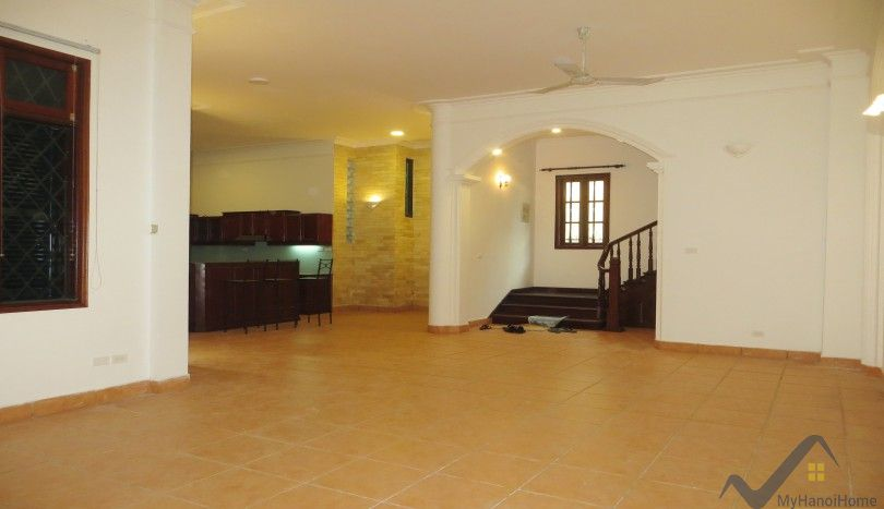 French style house on To Ngoc Van street for rent, unfurnished, 340m2