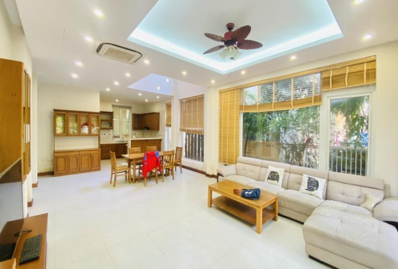 Fully furnished house for rent in Long Bien district 3 bedrooms