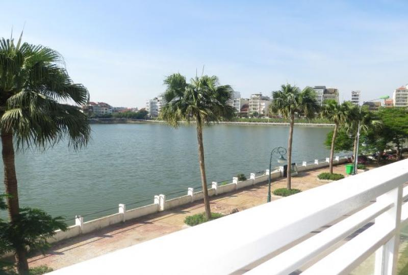 Fully furnished lake view 02 bedroom duplex apartments, Tay Ho area