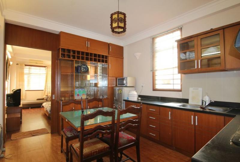Furnished 01 bedroom apartment in Tran Hung Dao, Hoan Kiem