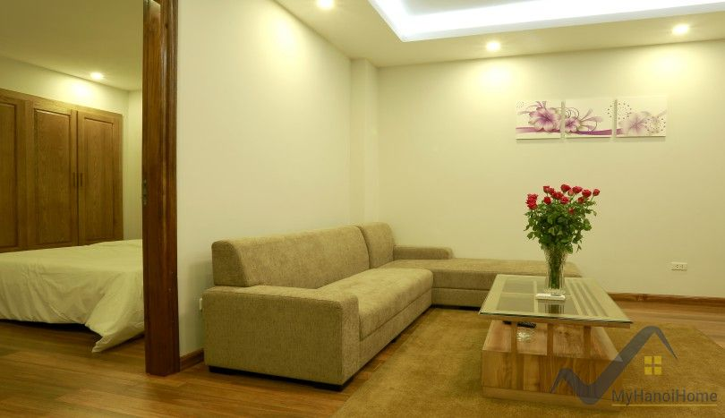 Furnished 01 bedroom apartment to rent in Cau Giay district