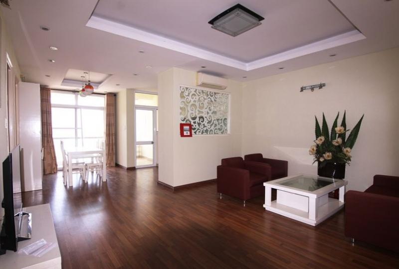 Furnished 03 bedroom apartment at 713 Lac Long Quan, Tay Ho