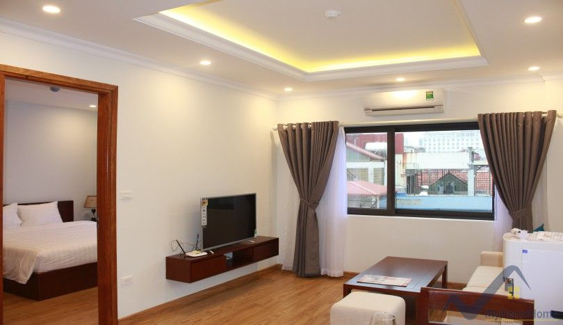 Furnished 1 bedroom apartment in Ba Dinh district near Lotte
