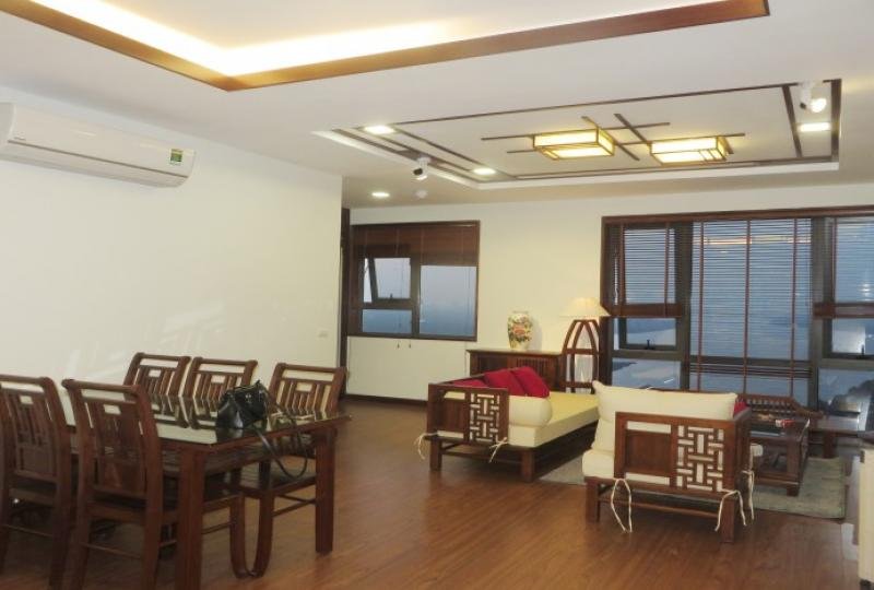 Furnished 1 bedroom apartment in Mipec Riverside Red river view